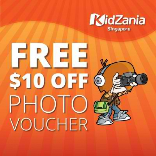 Visit KidZania Singapore this May & Receive a $10 off Photo Voucher