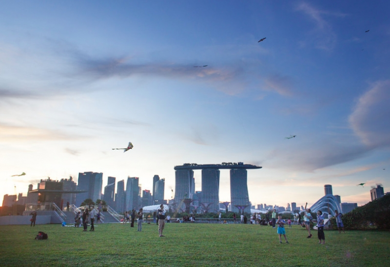 picnic spots in singapore marina barrage