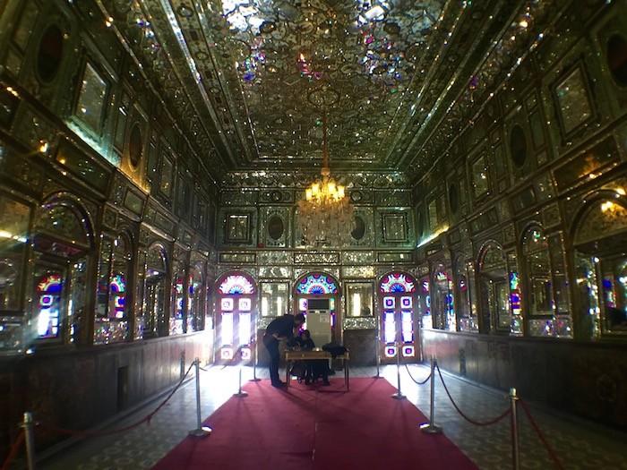 Emarat-e Bagdir of Golestan Palace in Tehran