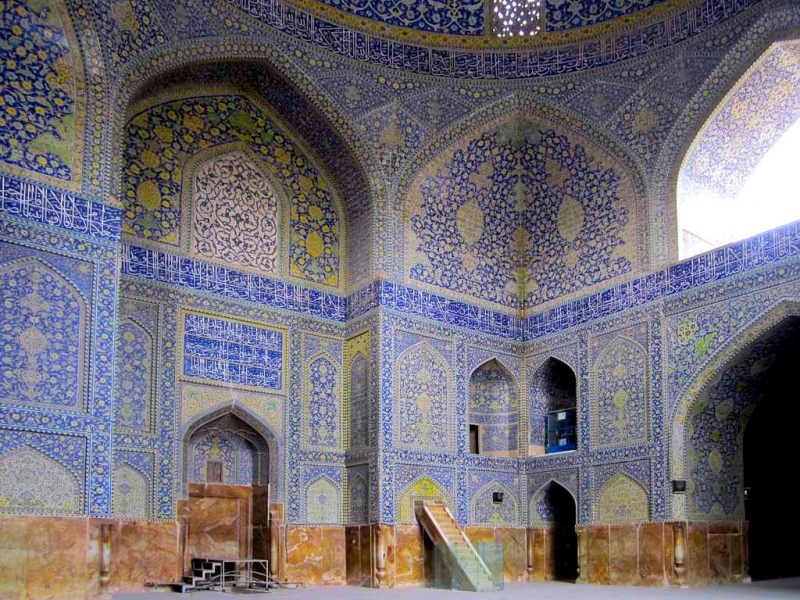 Shah Mosque Esfahan Iran