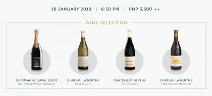 Wine Dinner Promo