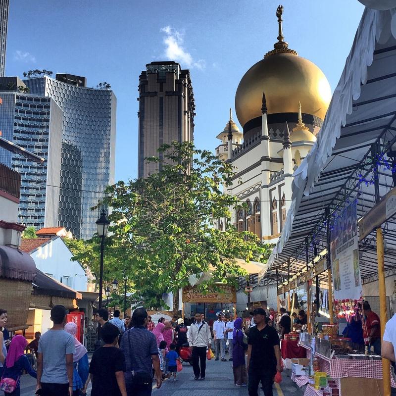 Sultan Mosque Bazaar Ramadan