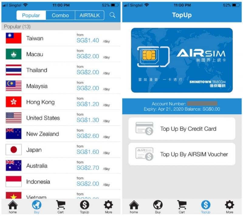 travel sim card roam app data plans