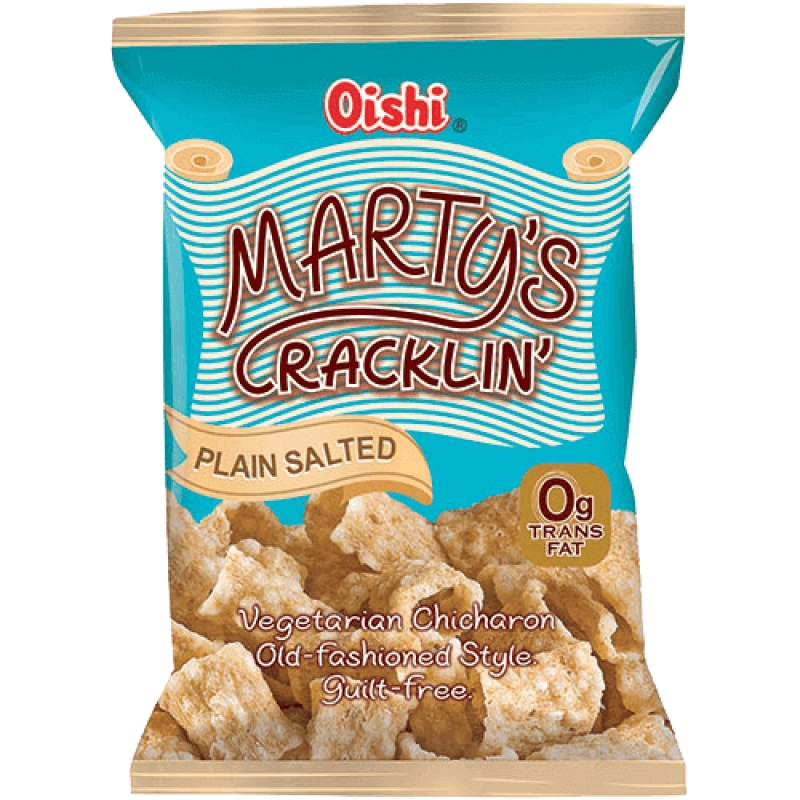 Filipino Snacks: Marty's Cracklin' Vegetarian Chicharon