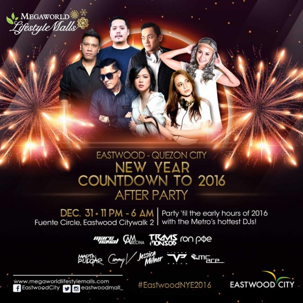 manila new year countdown