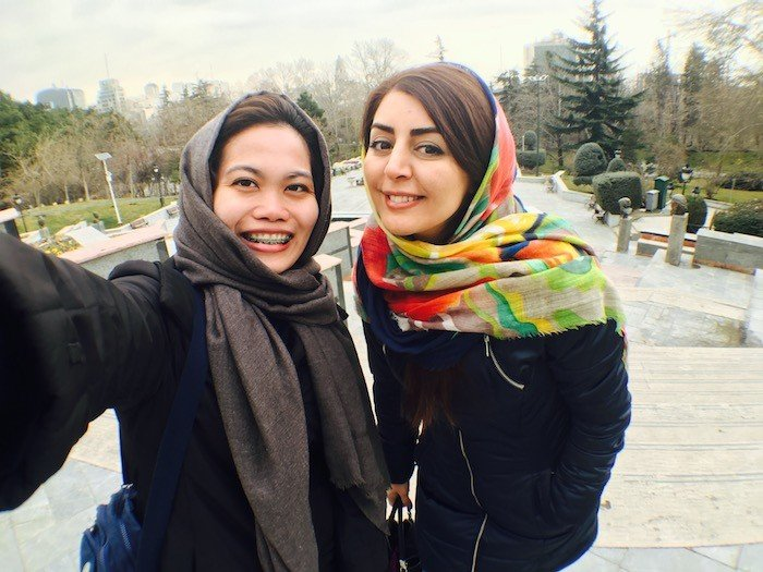 two weeks solo iran