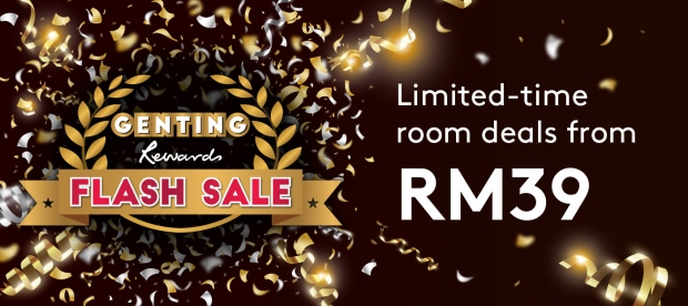 Genting Rewards May Flash Sale: Save up to 35% in Resorts World Genting