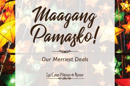 Maagang Pamasko (Merriest Deals!)