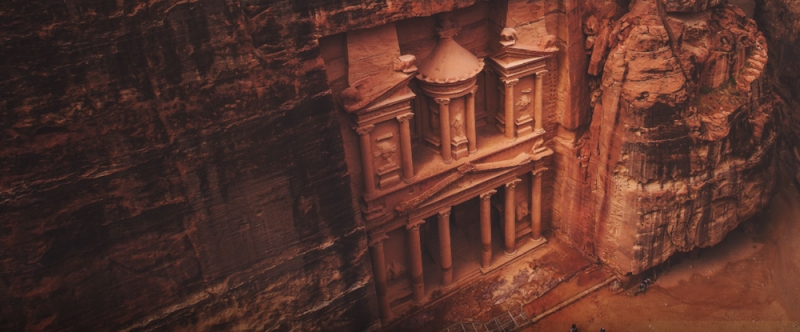 time travel back to petra