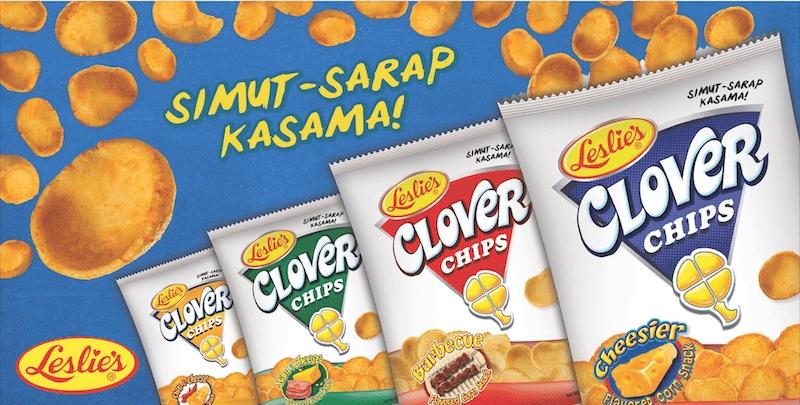 Filipino Snacks: Clover Chips