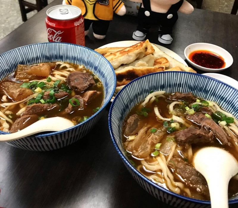 halal chinese beef noodle restaurant taipei