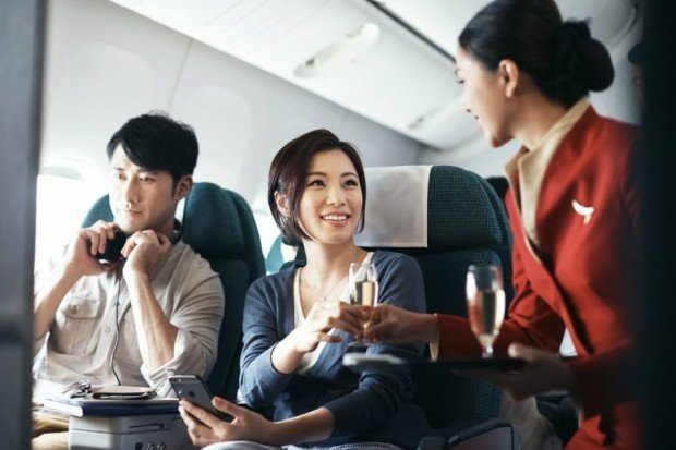 Travel in Style with Business and Premium Economy Class with Cathay Pacific