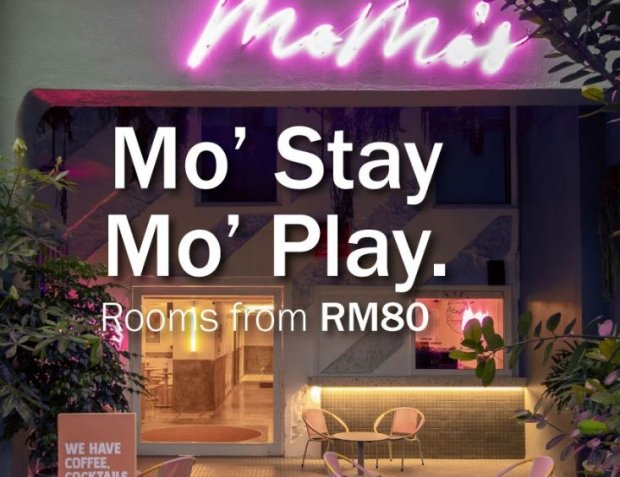 Stay and Play Offer at MoMo's by Tune Hotel