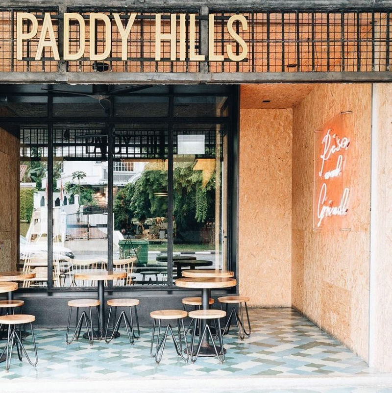 Paddy Hills is a hidden cafe in Singapore