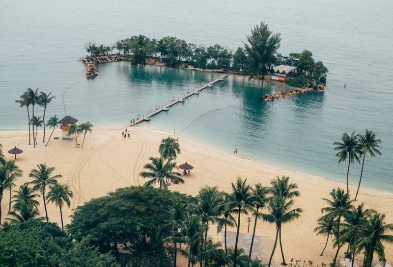 Sentosa beach booking