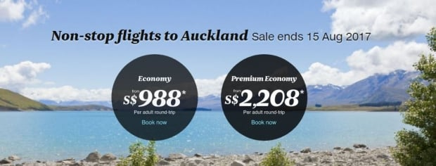 Fly High Down Under with Air New Zealand from SGD988