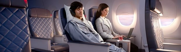 Premium Economy Class Sale to USA and Canada with Delta Air from SGD2,522
