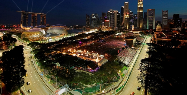 Singapore Night Race 2019 at The Swissotel The Stamford
