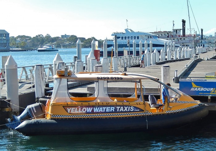 Sydney water taxis