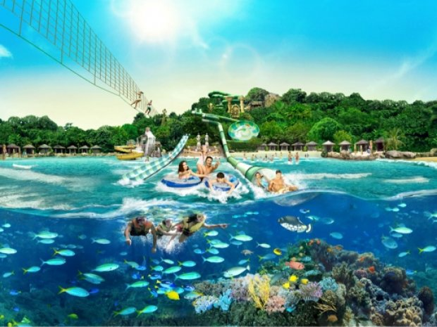 Adventure Cove Waterpark™ Ticket and more at SGD38 with OCBC Card