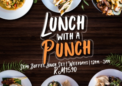 Lunch with a Punch