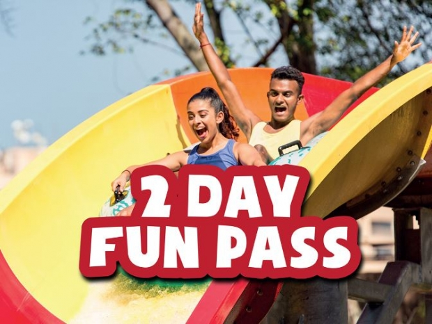 2 Day Fun Pass with 50% Off on your 2nd Day in Sunway Lagoon