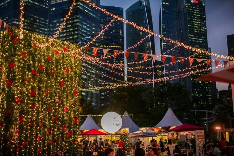 acara natal di singapura