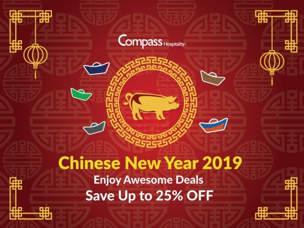 Chinese New Year 2019 - Awesome Deals with Compass Hospitality