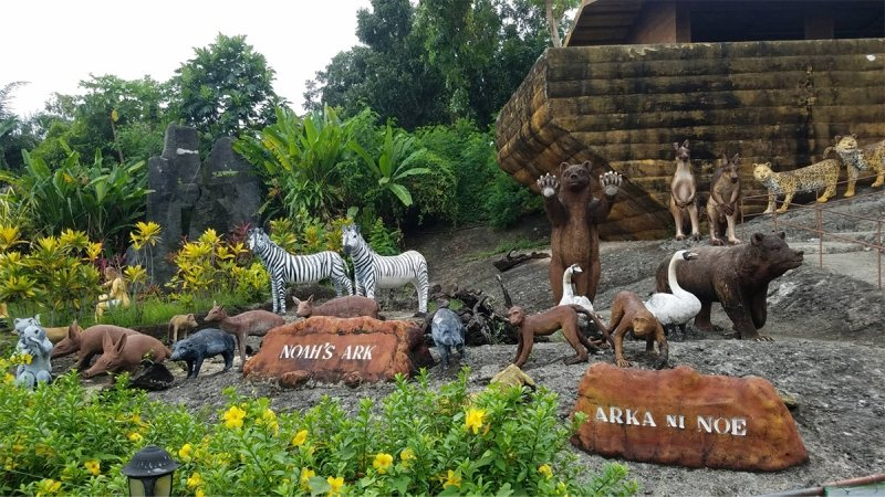 garinfarm pilgramage resort biblical scenes