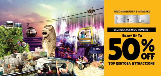 Up to 50% Savings | NTUC Exclusive Member Privileges in One Faber Group Attractions