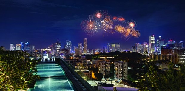 Spectacular Fireworks Package in Hotel Jen Orchardgateway Singapore