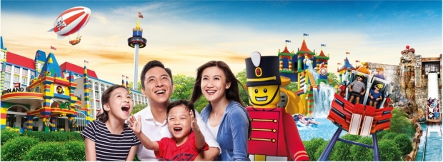 Online Travel Fair with Up to 30% Savings in Legoland Malaysia