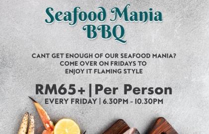 Seafood Mania BBQ Buffet