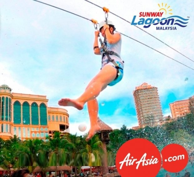 Enjoy 20% Off Admission Ticket to Sunway Lagoon with AirAsia Boarding Pass