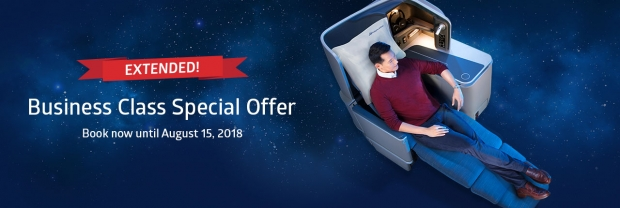 EXTENDED | Business Class Special Offer in Philippines Airlines