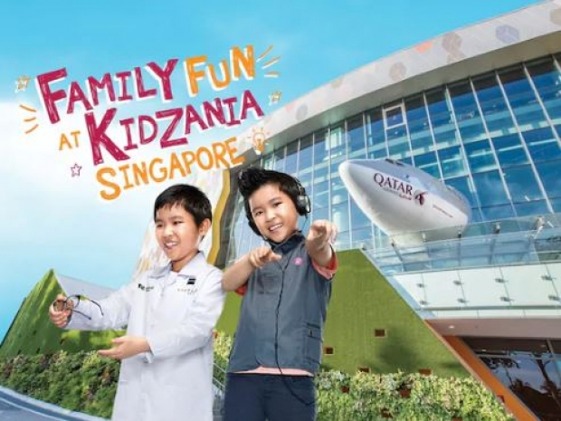 Save SGD10 in KidZania Bundles with PAssion Card