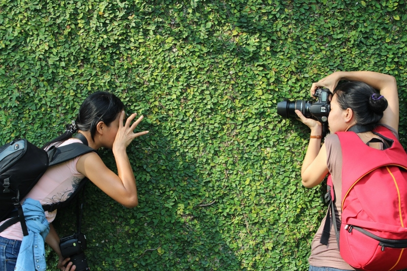 travelling with a photographer