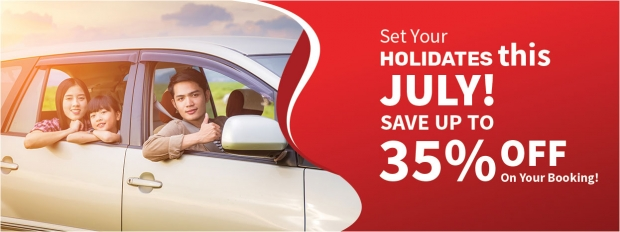 Set Your Holidates this July at 35% Off with Tune Hotels