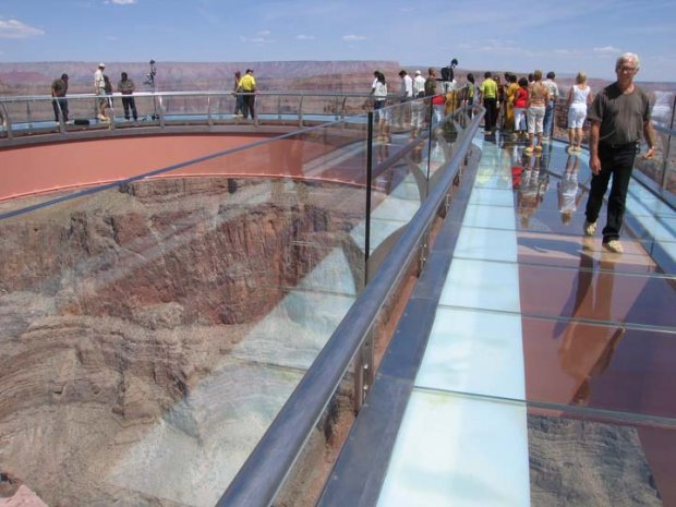 Overcome Your Fear Of Heights At The Grand Canyon Skywalk