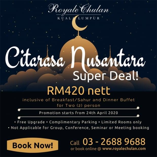 Citarasa Nusantara Offer at Royale Chulan Kuala Lumpur
