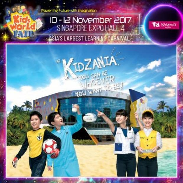 FREE Admission | KidZania Singapore at Kids World Fair 2017