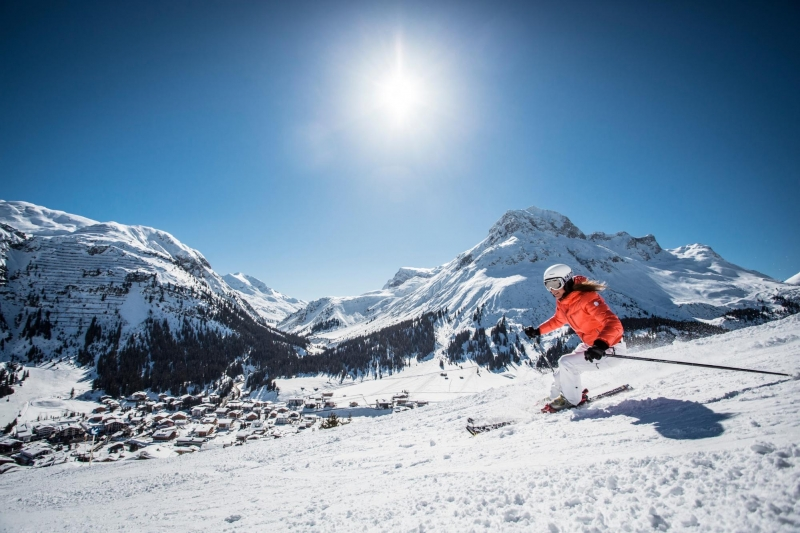 lech zürs am arlberg ski