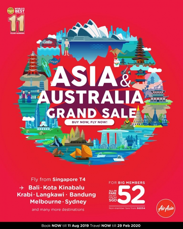 Cheap Air Tickets Deals | Grand Sale - Fly to Asia and Australia