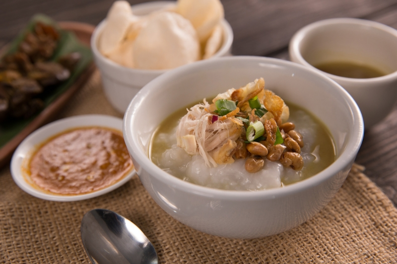 breakfast around the world: bubur ayam