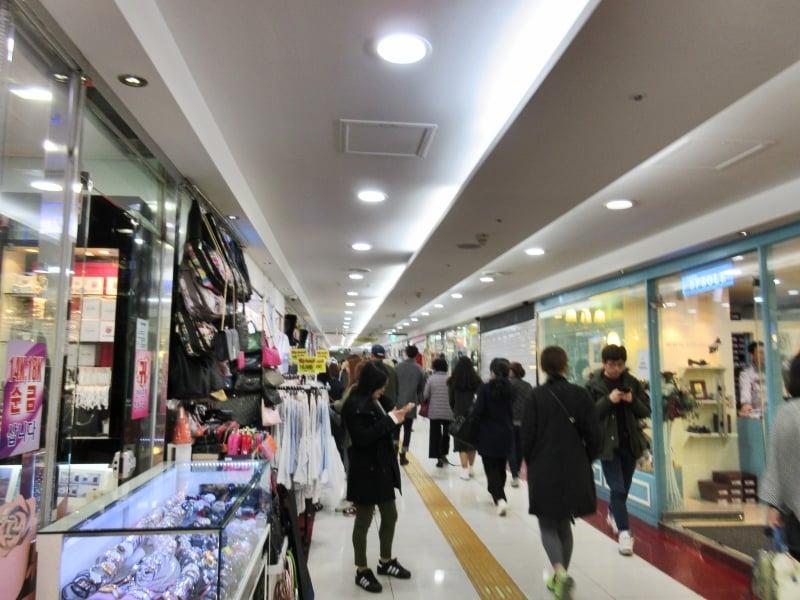 Myeongdong Underground Shopping Centre