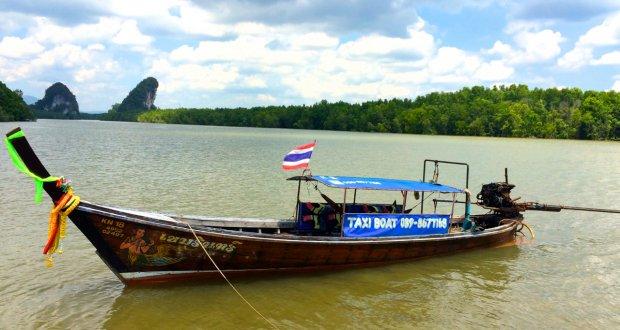 krabi water taxi