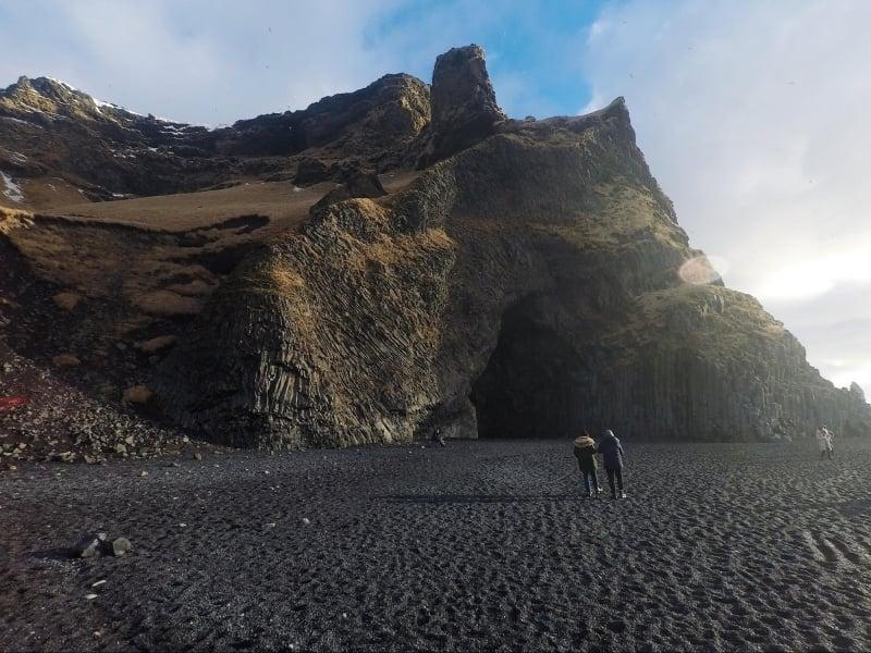 halsanefshellir cave