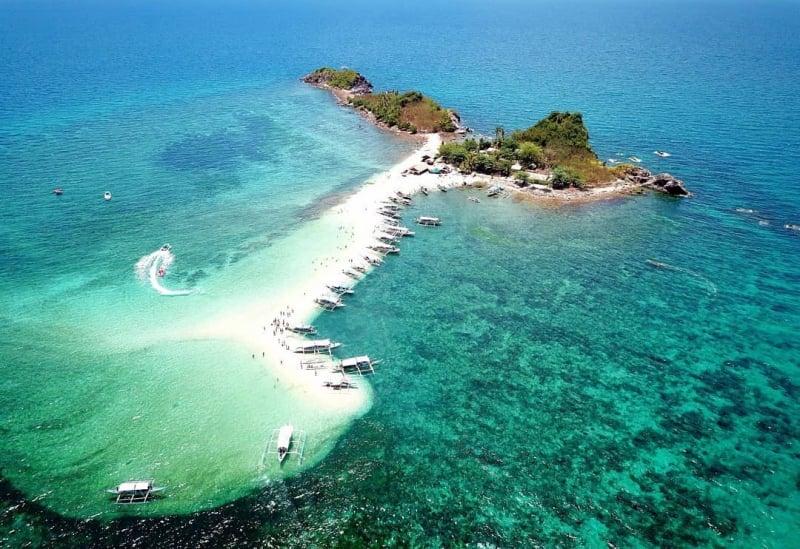 bantigue island sandbar | iloilo itinerary