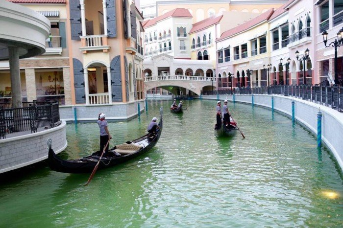 Venice Piazza Grand Canal Mall