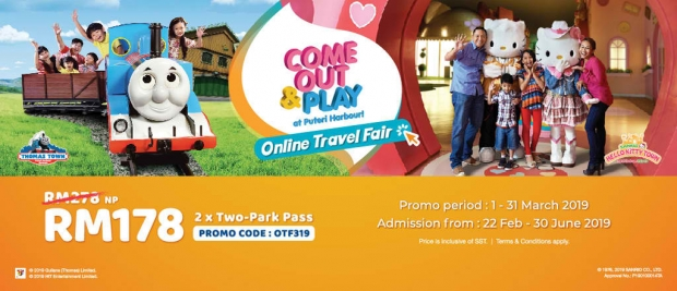 Online Travel Fair (March 2019) at Puteri Harbour